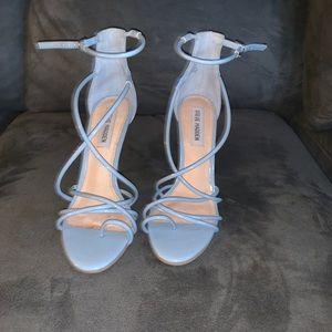 Baby Blue Heels